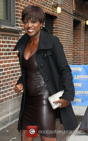 Viola Davis  arrive at the Ed Sullivan Theater for 'The Late Show with David Letterman'  New York City,...