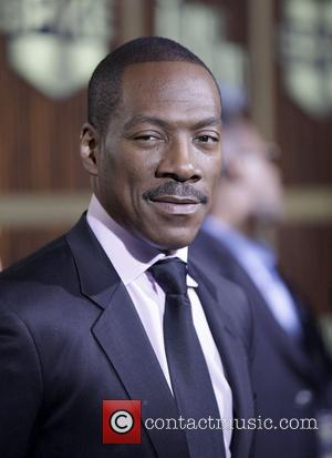 Eddie Murphy at a tribute event in Los Angeles