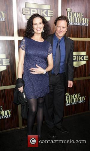 Judge Reinhold and Amy Reinhold