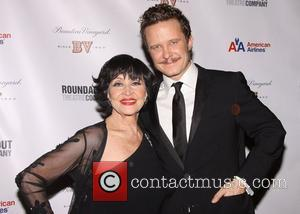 Chita Rivera and Will Chase at the after party for 'The Mystery of Edwin Drood' at Studio 54  New...