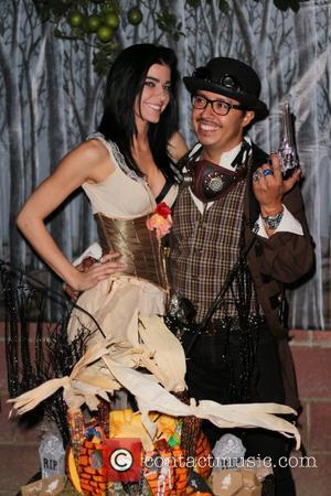 Efren Ramirez and Kimberly Bishop