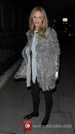 Trinny Woodall attends the Elizabeth Arden 'Eight Hour Cream' party London, UK- 08.03.2012