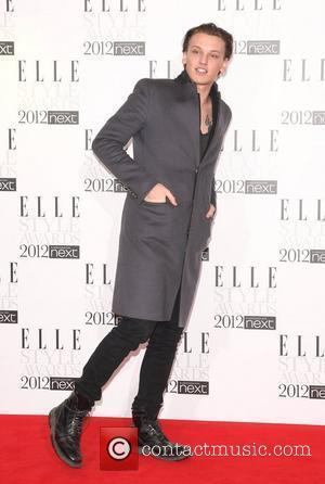 Jamie Campbell Bower The Elle Style Awards 2012 held at The Savoy - Arrivals London, England - 13.02.12