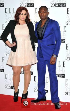 Dizzee Rascal and Katie Pepper ELLE Style Awards held at the Savoy - Arrivals. London, England - 13.02.12