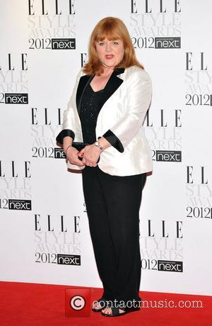 Lesley Nicol ELLE Style Awards held at the Savoy - Arrivals. London, England - 13.02.12