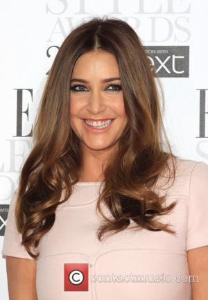 Lisa Snowdon The Elle Style Awards 2012 held at The Savoy - Arrivals London, England - 13.02.12