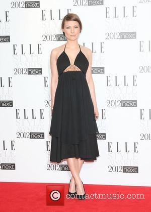 MyAnna Buring The Elle Style Awards 2012 held at The Savoy - Arrivals London, England - 13.02.12
