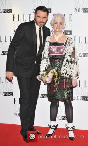 Roland Mouret and guest ELLE Style Awards held at the Savoy - Arrivals. London, England - 13.02.12