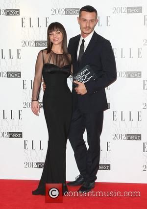 Christina Ricci and Best Designer of the Year winner Jonathan Saunders The Elle Style Awards 2012 held at The Savoy...