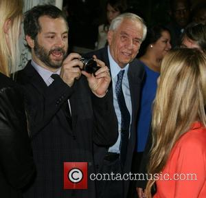 Judd Apatow, Garry Marshall and Leslie Mann