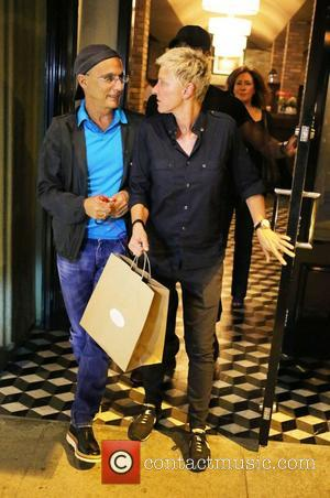 Ellen DeGeneres leves Craig's Restaurant in Beverly Hills with a friend Beverly Hills, California - 22.08.12