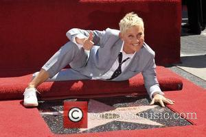 Ellen DeGeneres  Ellen DeGeneres is honored with a star on The Hollywood Walk Of Fame Los Angeles, California -...