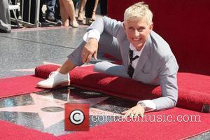 Ellen DeGeneres  Ellen DeGeneres is honored with a star on The Hollywood Walk Of Fame Los Angeles, California -...