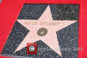 Ellen DeGeneres is honored with a star on The Hollywood Walk Of Fame Los Angeles, California - 04.09.12