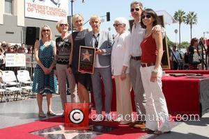 Portia DeRossi, Ellen DeGeneres, Family  Ellen DeGeneres is honored with a star on The Hollywood Walk Of Fame Los...