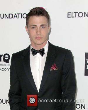 Colton Haynes The 20th Annual Elton John AIDS Foundation's Oscar Viewing Party held at West Hollywood Park - Arrivals...