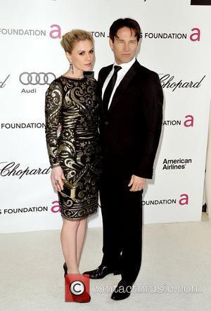 Anna Paquin and Stephen Moyer  The 20th Annual Elton John AIDS Foundation's Oscar Viewing Party held at West Hollywood...