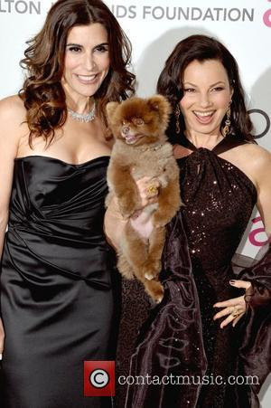 Jo Champa and Fran Drescher  The 20th Annual Elton John AIDS Foundation's Oscar Viewing Party held at West Hollywood...