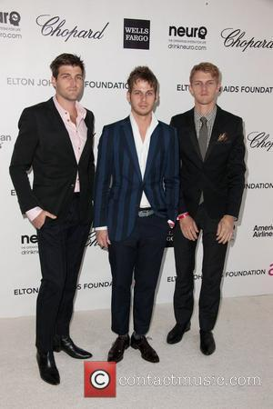 Foster The People Band The 20th Annual Elton John AIDS Foundation's Oscar Viewing Party held at West Hollywood Park -...