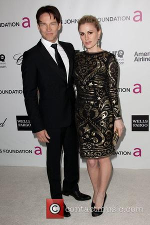 Stephen Moyer and Anna Paquin The 20th Annual Elton John AIDS Foundation's Oscar Viewing Party held at West Hollywood Park...