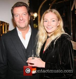 Mark Steinberg and Clara Paget Elvira Vintage pop-up launch party London, England - 01.11.12