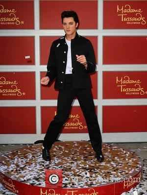 Elvis Presley Wax Figure Madame Tussauds Hollywood unveils a wax figure of 'King of Rock and Roll' Elvis Presley Los...