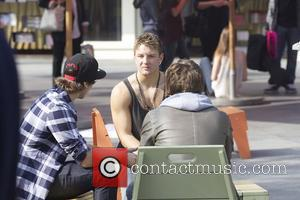 X Factor finalists Emblem 3 out shopping at The Grove. Los Angeles, California - 26.11.12