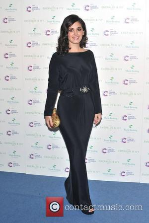 Katie Melua Ronan Keating's  seventh Emeralds & Ivy Ball in aid of Cancer Research UK and the Marie Keating...