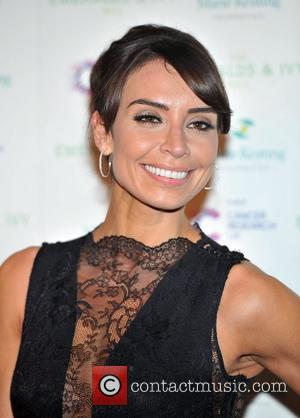 Christine Bleakley Ronan Keating's  seventh Emeralds & Ivy Ball in aid of Cancer Research UK and the Marie Keating...