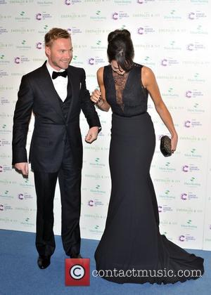 Ronan Keating and Christine Bleakley
