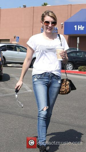 Emma Roberts and Beverly Hills