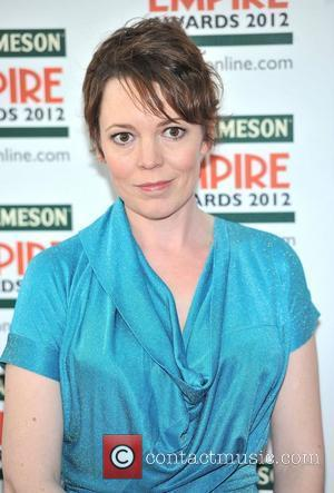 Olivia Colman and Grosvenor House