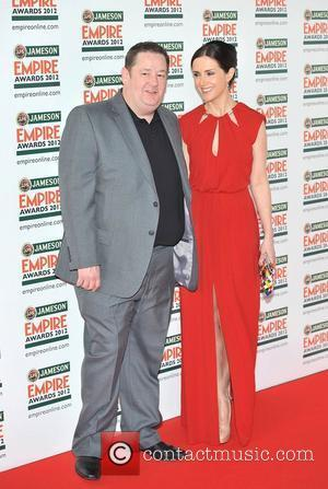 Johnny Vegas and Maia Dunphy The 2012 Jameson Empire Awards held at the Grosvenor House - Arrivals. London, England -...