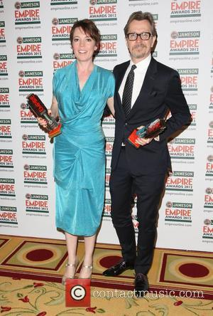 Olivia Colman and Gary Oldman