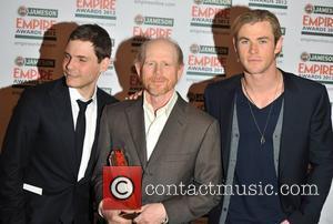 Daniel Bruhl, Chris Hemsworth, Ron Howard and Grosvenor House