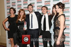Lydia, Blake Harrison, Joe Thomas, Tamla Kari, The Inbetweeners and Grosvenor House