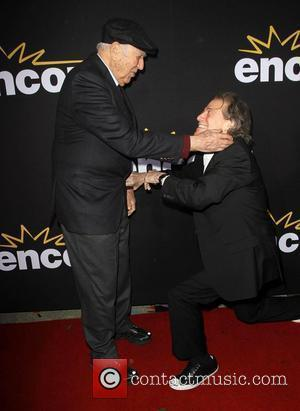 Carl Reiner, Richard Lewis LA Premiere of Encore's Method To The Madness Of Jerry Lewis held at The Paramount Studios...