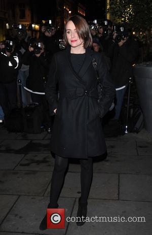 Keeley Hawes English National Ballet Christmas Party held at the Martins Lane Hotel - Arrivals. London, England - 14.12.11