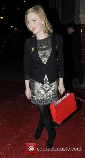 Holliday Grainger English National Ballet's The Nutcracker - Arrivals  Featuring: Holliday Grainger