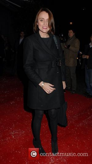 Keeley Hawes English National Ballet Christmas party held at the Martins Lane Hotel - Departures London, England - 14.12.11
