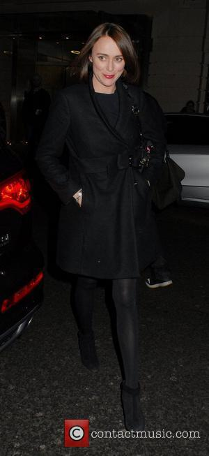 Keeley Hawes English National Ballet Christmas party held at the Martins Lane Hotel - Outside Arrivals London, England - 14.12.11