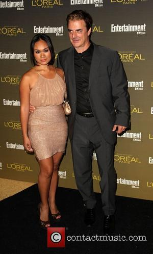 Chris Noth and Tara Lynn Wilson 2012 Entertainment Weekly Pre-Emmy Party at the Fig & Olive  West Hollywood, California...
