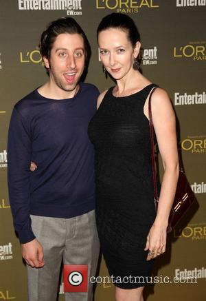 Simon Helberg and Jocelyn Towne 2012 Entertainment Weekly Pre-Emmy Party at the Fig & Olive  West Hollywood, California -...
