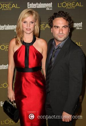 Kelli Garner and Johnny Galecki 2012 Entertainment Weekly Pre-Emmy Party at the Fig & Olive  West Hollywood, California -...