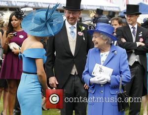 Katherine Jenkins and Queen Elizabeth II