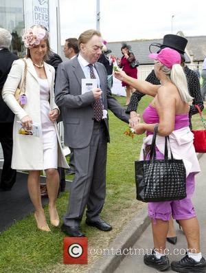 Andrew Lloyd Webber Epsom Derby Festival at Epsom Racecourse - Oaks Day Surrey, England - 01.05.12