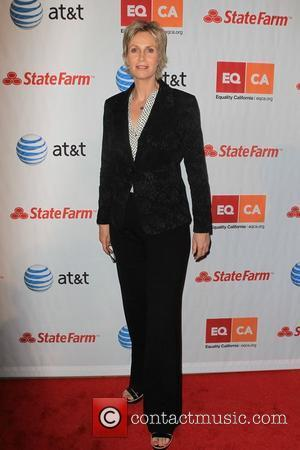 Jane Lynch and Beverly Hilton Hotel
