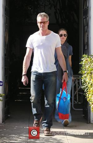 Eric Dane, Rebecca Gayheart and West Hollywood