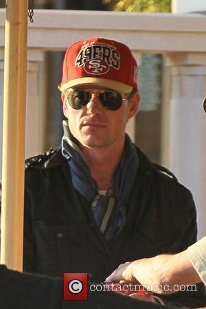 Eric Dane leaving Barneys New York store in Beverly Hills wearing a San Francisco 49ers hat Los Angeles, California -...
