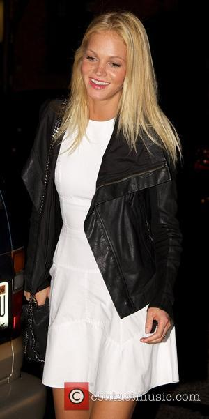 Erin Heatherton American fashion model arriving at Milk Studios New York City, USA - 27.10.12